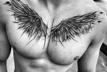 tattoo wings men