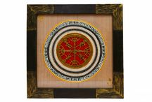 Square Exquisite Dhokra Work Wall Décor ( 15 Inch )