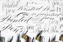 schriftkunst - calligraphy - calligraphie