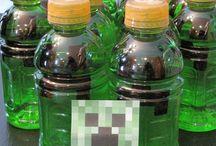 Minecraft Ideas for Landon's 6th Birthday