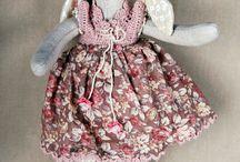 Текстильные куклы / Хлопок, лен, шерсть + душа