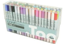 Copic pens for anime drawing