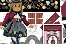 Steampunk dolls, costumes, outfits and diy