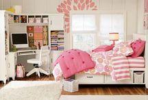 Girl Room Ideas / by Christina Avila
