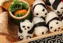 onigiri y sushi