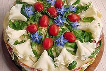 Salat Brottorte