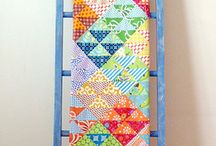 Quilt display ideas / by Rebecca Smith
