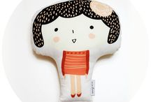 MALLANG LUNA - INTERIOR DECOR & KIDS DOLLS / Beautiful and unique collection from Mallang Luna, one of South Korea's upcoming designers.  Unique and adorable design and it's the FIRST TIME available for sale in the USA.