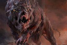 Страшные звери