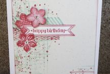 """Stamp:Gorgeous Grunge / Handmade cards featuring the stamp set """"Gorgeous Grunge"""" by Stampin' Up."""