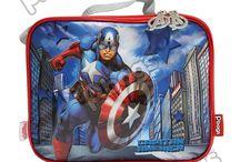 Loncheras Capitán América / Línea Morrales P.bags Primavera Regresa a Clases con TODO