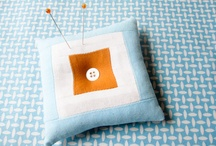 Pin cushions and sachets / by Meredith e