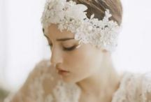Hair Adornments / creative Ideas for your wedding hair style.