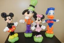palloncini personaggi Disney misti