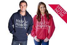 Shop at Help for Heroes! / We have an extensive range of H4H branded products available online, via our ezine or from our retail stores, raising funds for Help for Heroes.