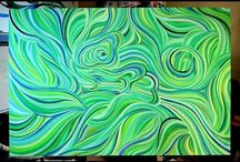 Acrylic painting tutorials