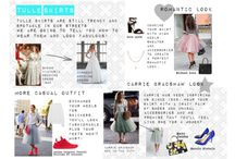 Tulle skirts / Tulle skirst have been since 18th century. I decided to create this board because tulle skirts are still in our streets and I still consider them as a trend. I created four different boards - romantic, Carrie Bradshaw, casual and wedding dresses. I also created my own moodboard with a little text. Do you want to be inspired? Don't wait a sec and open the board that is closest to your heart.
