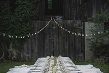 PARTIES + Outdoor Parties & Picnics / Head outside to entertain with these styling ideas