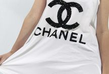 DIY How to make a Chanel logo Shirt
