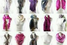 Scarves and Wraps / How-To's and outfit inspirations for scarves