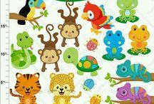kicsi állat figurák