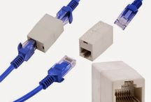 Alat Penyambung Kabel LAN RJ45 / LAN Cable Joiner Coupler Connector