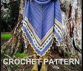 Crochet ~ Shawl ~ Poncho / by Cindy Valdez Salgado