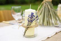 Wedding Table Decoration Ideas / A pinterest board full of natural table decoration ideas for an eco-friendly wedding x x