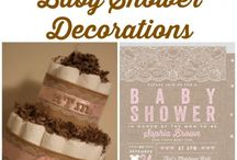 Baby Shower / by Allison Sladeck