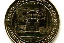Médailles touristiques