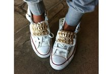 Flats shoes and sneakers