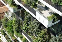 Condominium façade