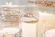 deco vasi con candelle