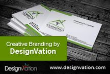 Branding / Creative Design solutions by DesignVation take a look.See more of our creations at: www.designvation.com