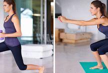 Ausdauertraining Po, Bauch und Beine