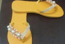chinelas customizada