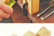 Chisel sharpening jigs