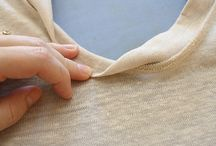 sewing neckline