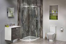 Bushboard / Koupelnové velkoformátové obklady