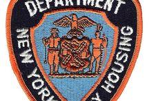 Emblemas de Policía Y Servicios de Rescate