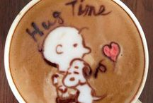 Beautiful Latte Art / A Collection of beautiful and crafty coffee latte art.