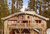 cabins rustic interior