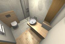 Projekt Łazienki | Bathroom Design - Tychy mała łazienka / Mała łazienka w Tychach