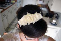 Hair+DIY hair accessories  / by Jessica Tiemens