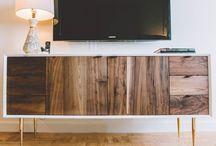 credenza/tv bench