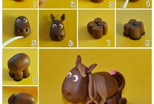 Horse themed cakes