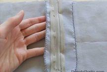 Como costurar braguilha
