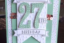 Large Numbers framelits - stampin up