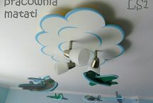 Lampy sufitowe - samoloty