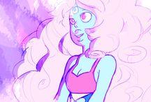 Steven Universe - Fan Fushions and gemsonas/fanmade gems